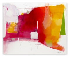 On Being Noted (Abstract painting)