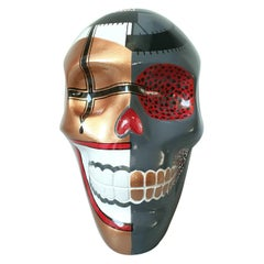 Xantolo Confeti / Skull / Art / Sculpture / Mexicraneos /Silvino Lopeztovar