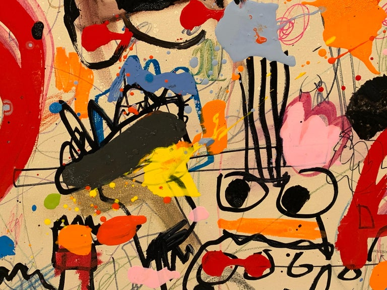 Xavi Carbonell, Untitled 2017, Mixed media on canvas For Sale 5