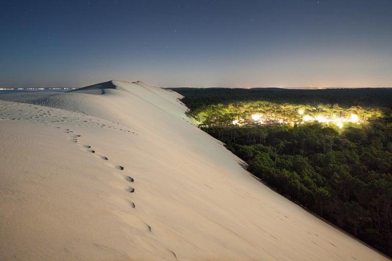 Xavier Dumoulin Landscape Photograph - Dune, Incandescences series