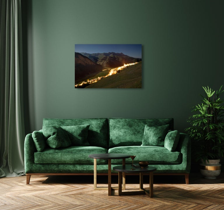 Fault by Xavier Dumoulin - Night Photography, Landscape, Mountain For Sale 1