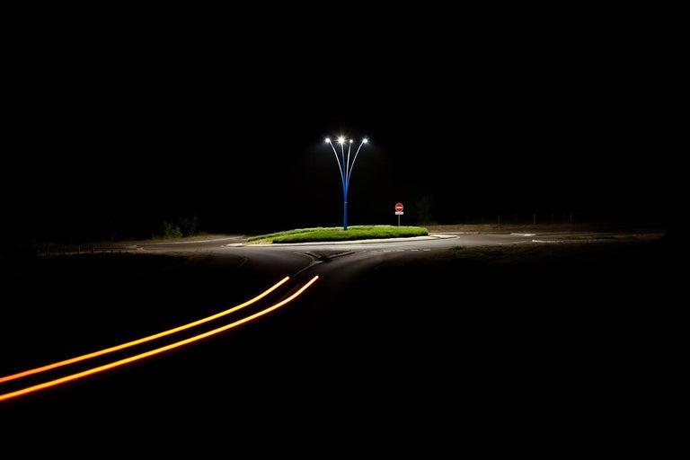 Xavier Dumoulin Landscape Photograph - Isola, Night Photograph