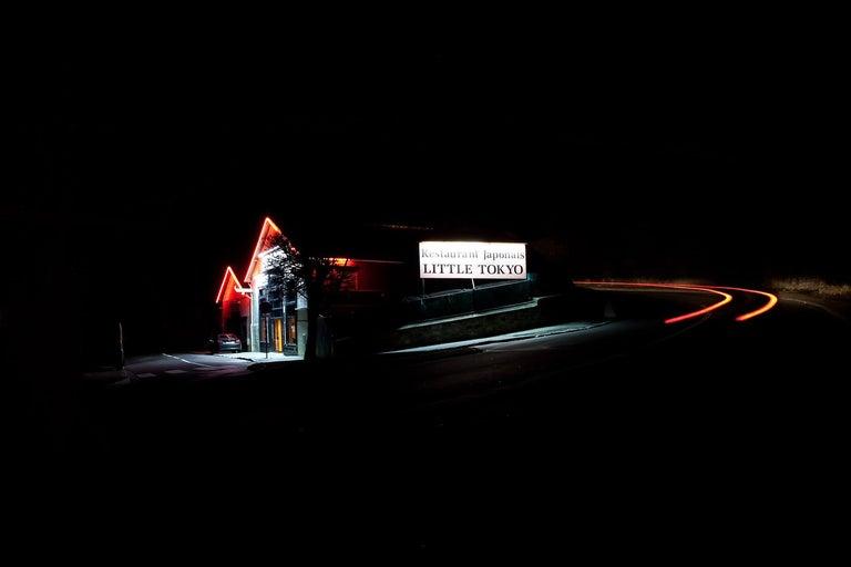 Xavier Dumoulin Landscape Photograph - Little Tokyo, Night Photograph