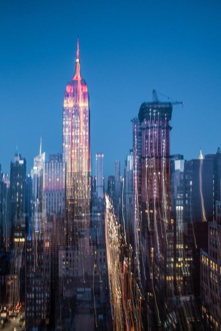 Xavier Dumoulin Figurative Photograph - New York Dream 20, urban landscape photography
