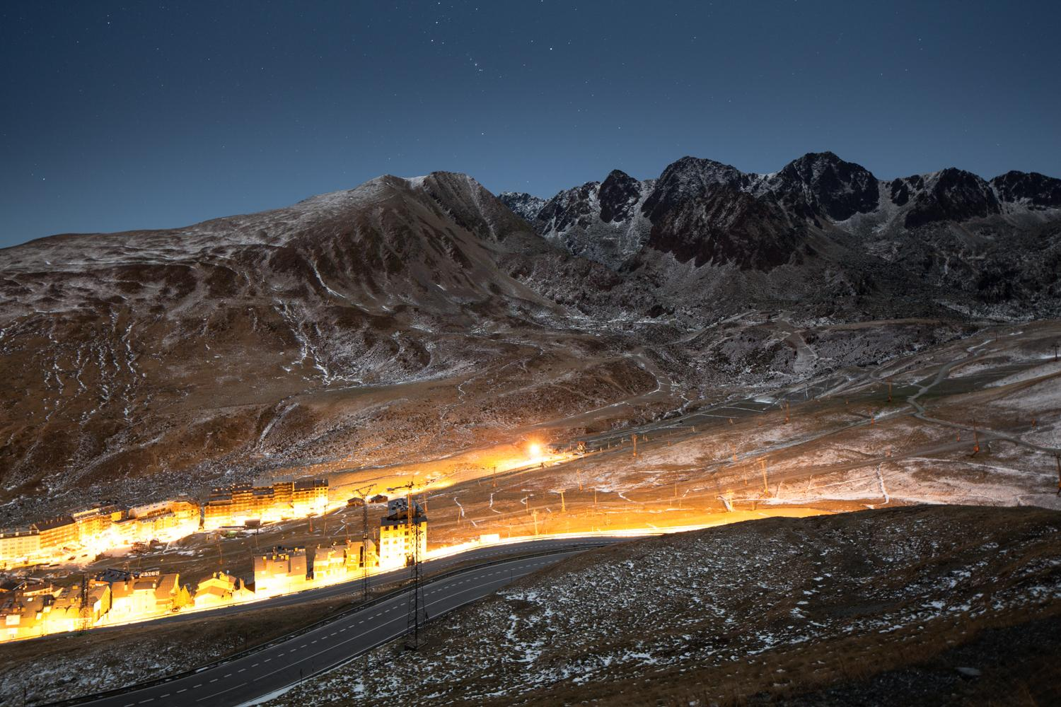 Sources, Incandescences series by Xavier Dumoulin - Night Photography, Landscape