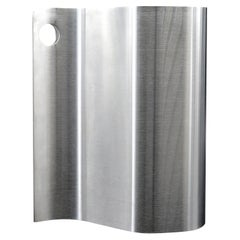 Xavier FEAL Stainless Steel Trash Can, 1970