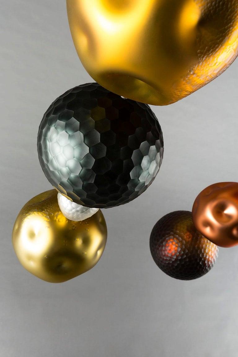 Art Glass Xavier Le Normand 2018, Unique Chandelier