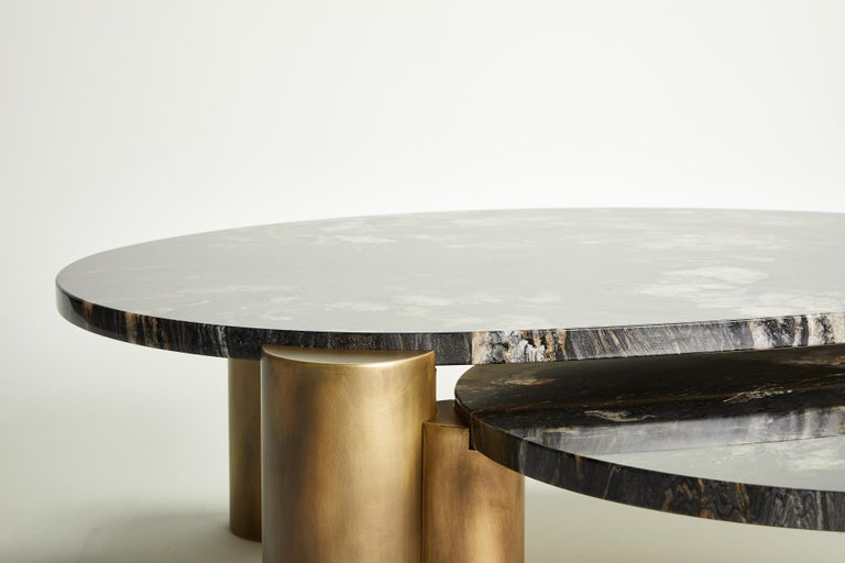 Brass Xenolith Table by Ben Barber Studio For Sale