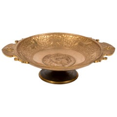 19th Century Neoclassic Bronze Bowl by Barbedienne