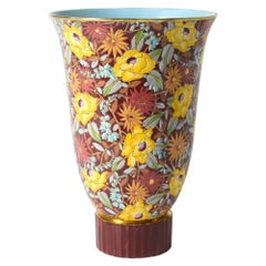 Extra Large Boch Vase 'Nagako' by R.H. Chevalier