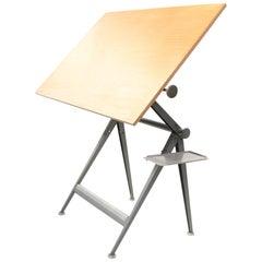 XL Dutch Reply Architect Drafting Table Friso Kramer, Wim Rietveld Ahrend, 1959