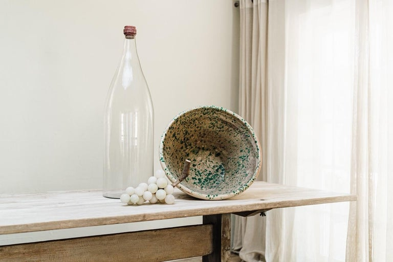 French Extra Large Glass Bottle For Sale