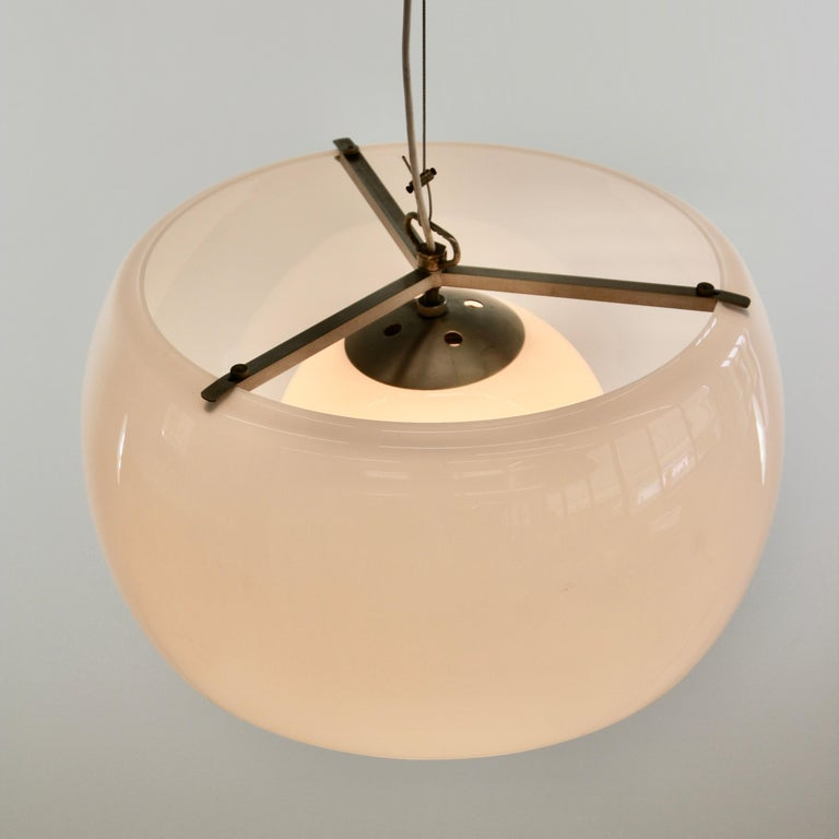 Italian Xl Omega Hanging Lamp by Vico Magistretti, 1962 For Sale