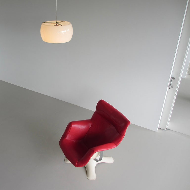 XL Omega Hanging Lamp by Vico Magistretti, 1962 For Sale 1