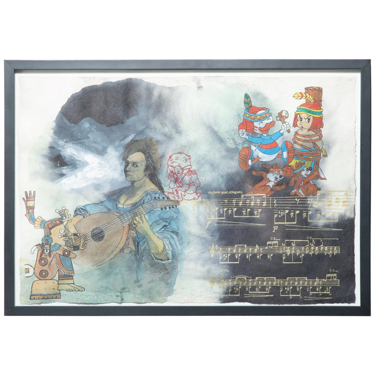 """""""Xochipilli"""" by Almudena Rodriguez For Sale"""