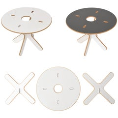 XOX Table, Modular Coffee Table, Reversible, by Josh Owen