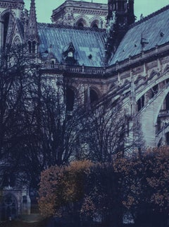 Notre Dame 11 - Contemporary, 21st Century, Large Format Polaroid, Paris, Icons