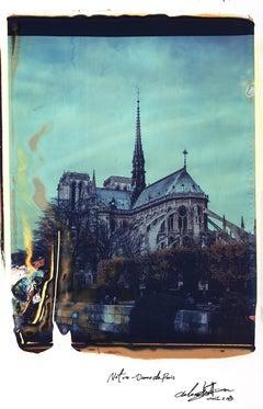 Notre Dame 11 - Contemporary, 21st Century, Large Format Polaroid, Paris, Icons