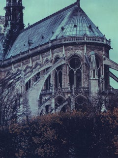 Notre Dame 12 - Contemporary, 21st Century, Large Format Polaroid, Paris, Icons