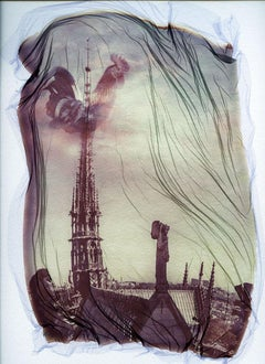 Notre Dame 2 - Contemporary, 21st Century, Polaroid, Paris, Icons