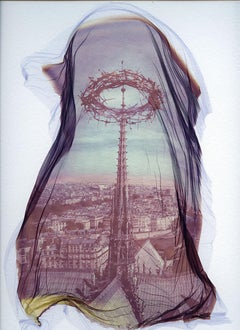 Notre Dame 3 - Contemporary, 21st Century, Polaroid, Paris, Icons