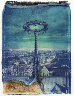 Notre Dame 4 - Contemporary, 21st Century, Polaroid, Paris, Icons
