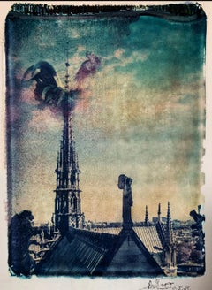 Notre Dame 8 - Contemporary, 21st Century, Polaroid, Paris, Icons