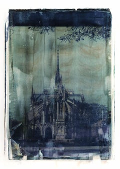 Notre Dame 9 - Contemporary, 21st Century, Large Format Polaroid, Paris, Icons
