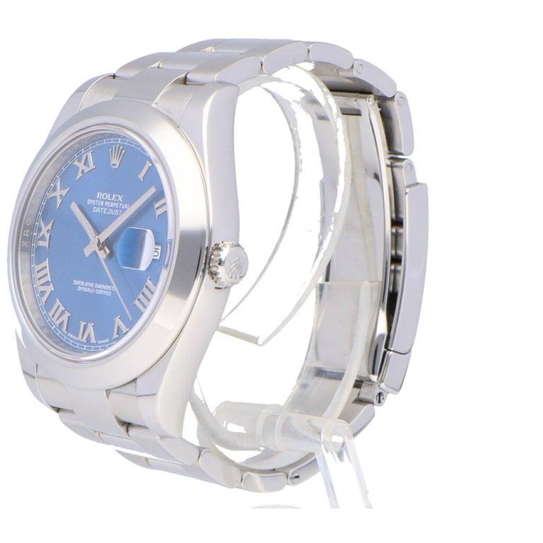 Rolex Datejust Stainless Steel 116300 Watch In Good Condition In Bishops Stortford, Hertfordshire