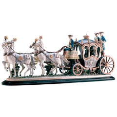 18th Century Coach Sculpture, Limited Edition