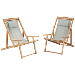 20th Century Swedish Deckchairs, 1940