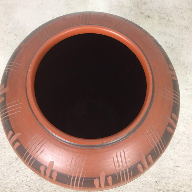Extra Large Vintage Handmade Ceramic Pottery Floor Vase, Germany, 1960s For Sale 2