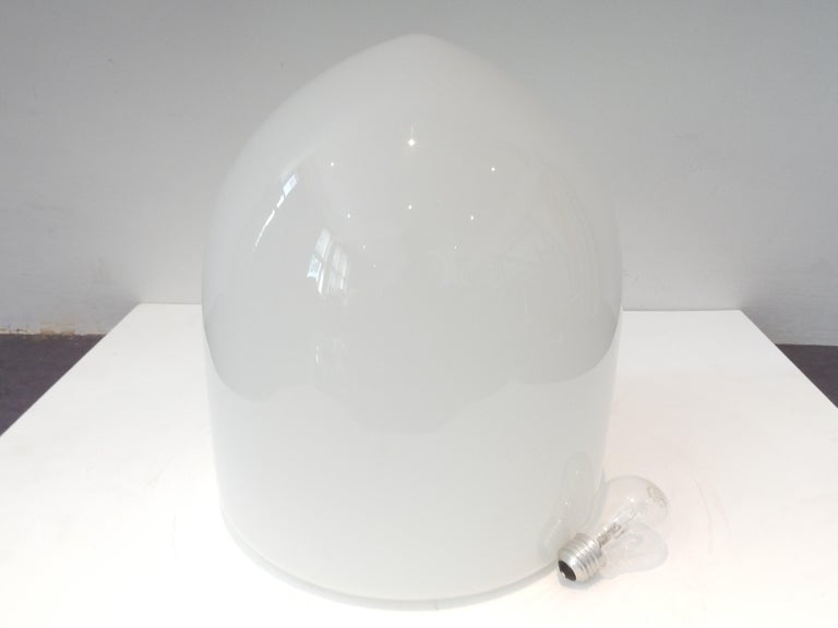 Dutch Extra Large Ceiling Lamp by Frans Hamers for Hamolite, 1930s For Sale