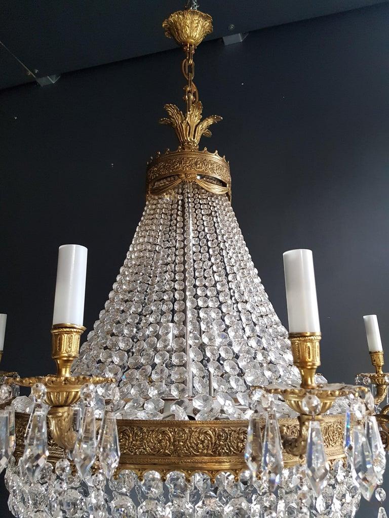 XXL Huge Montgolfièr Empire Sac a Pearl Chandelier Crystal Lustre Ceiling Lamp For Sale 5