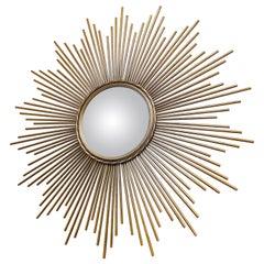 Extra Large Sunburst Mirror, 1960s
