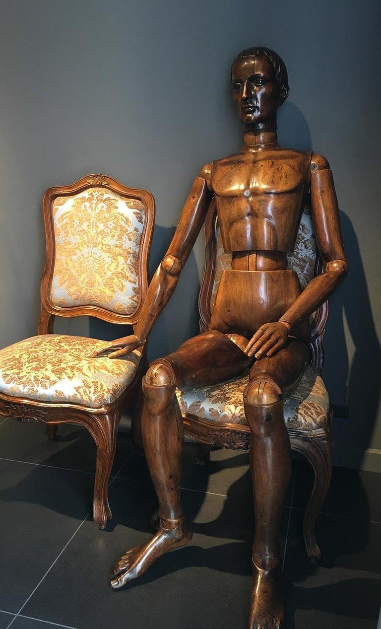 20th Century Italian Life-Size Mannequin, circa 1920 For Sale 10