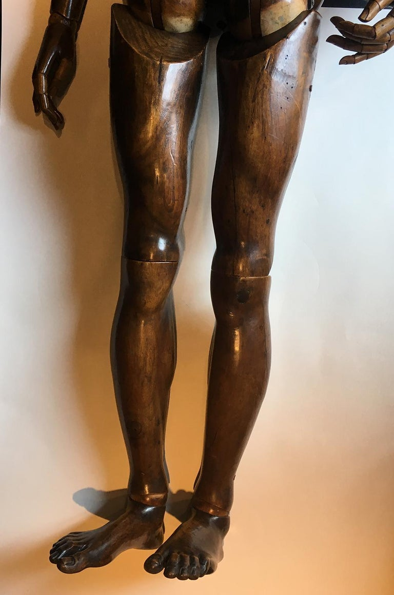 Early 20th Century 20th Century Italian Life-Size Mannequin, circa 1920 For Sale