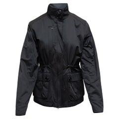 Y-3 Yohji Yamamoto Black Nylon Jacket