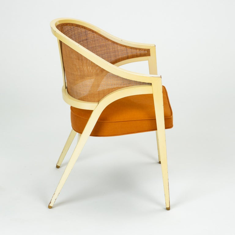 Y-Back Captain Chair by Edwards Wormley for Dunbar For Sale 2