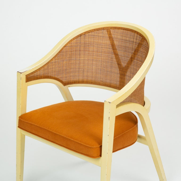 Y-Back Captain Chair by Edwards Wormley for Dunbar For Sale 8