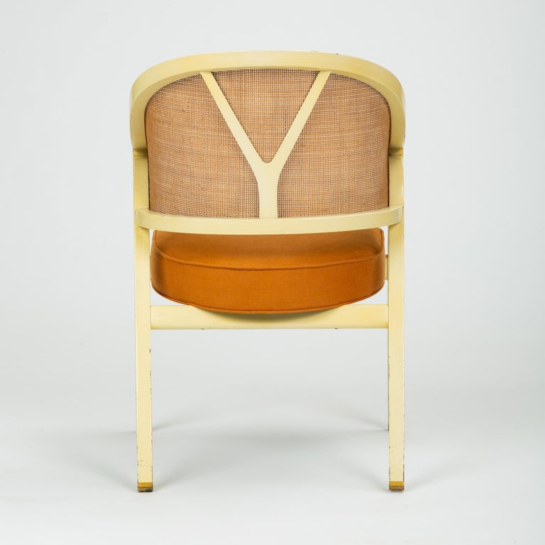 20th Century Y-Back Captain Chair by Edwards Wormley for Dunbar For Sale