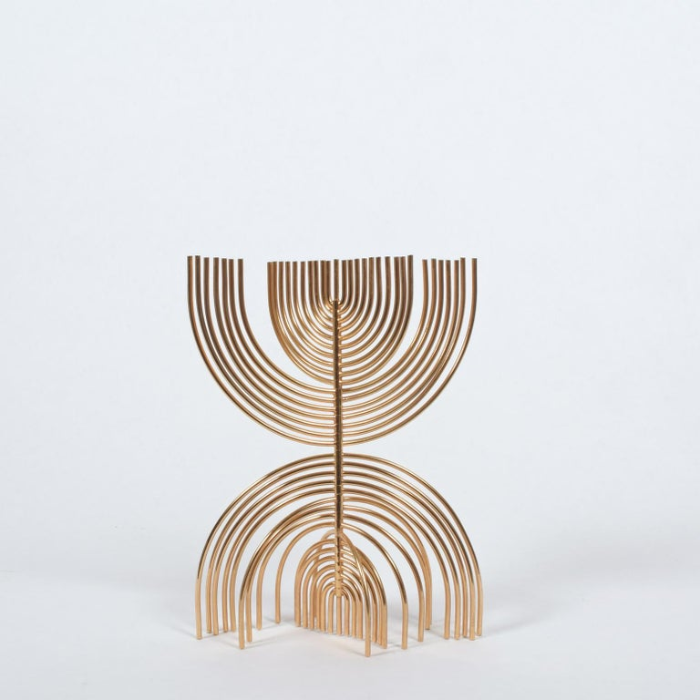 Organic Modern Yaakov Agam Kinetic Sculpture, 1988 For Sale