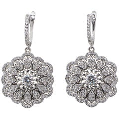 Yagi Design Earrings CZ Sterling Silver
