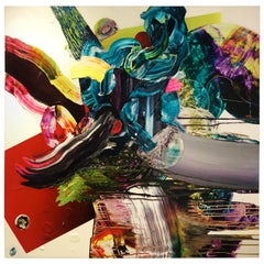 "Yago Hortal Contemporary Art Work ""Untitled"" Acrylic on Canvas, 2007"