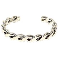 Yaha Navajo Sterling Silver 43 Gr. Cuff Bracelet