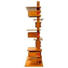 "Yamagiwa Frank Lloyd Wright ""Taliesin III"" Architectural Table Lamp, 1994"