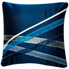 Yanagi Pillow, Midnight Blue, Maki Yamamoto