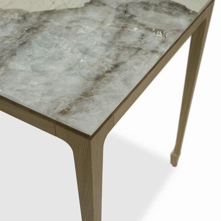 Contemporary Yang Tall Side Table For Sale