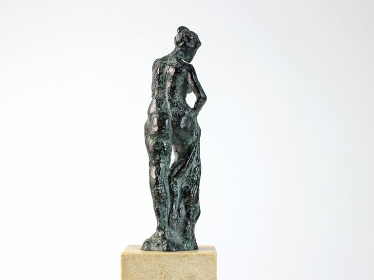 Bather II, Female Nude Bronze Sculpture For Sale 1