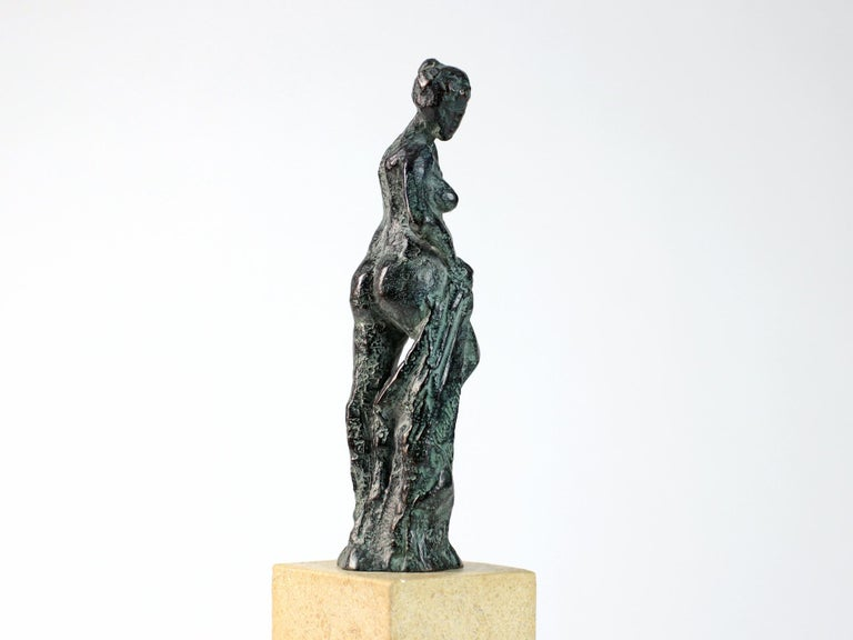 Bather II, Female Nude Bronze Sculpture For Sale 2